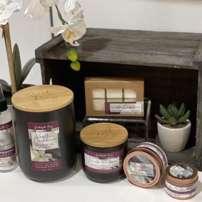 Massage Oil Candles